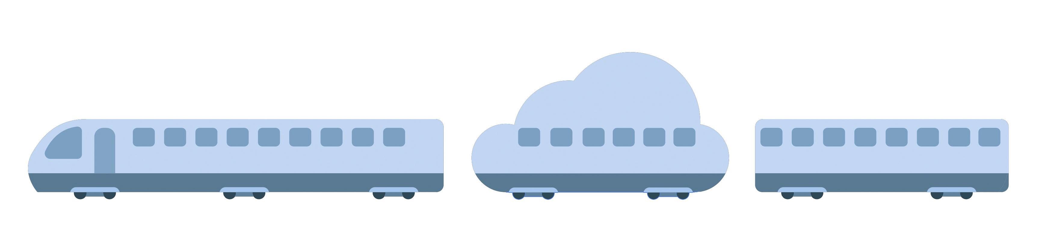 train+cloud